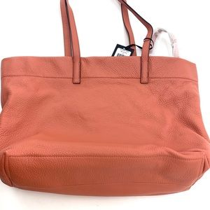 Dkny Bags - DKNY Bowery Coral Large Tote & Clutch NEW